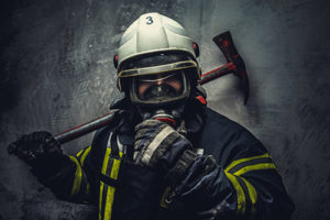 Image of a firefighter