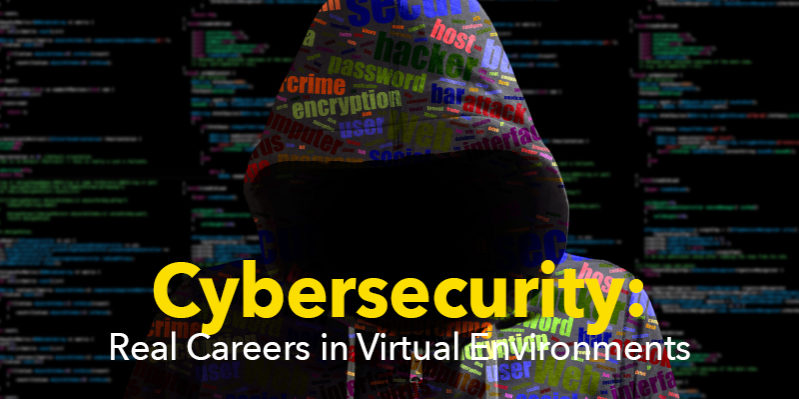 Cybersecurity abstract image