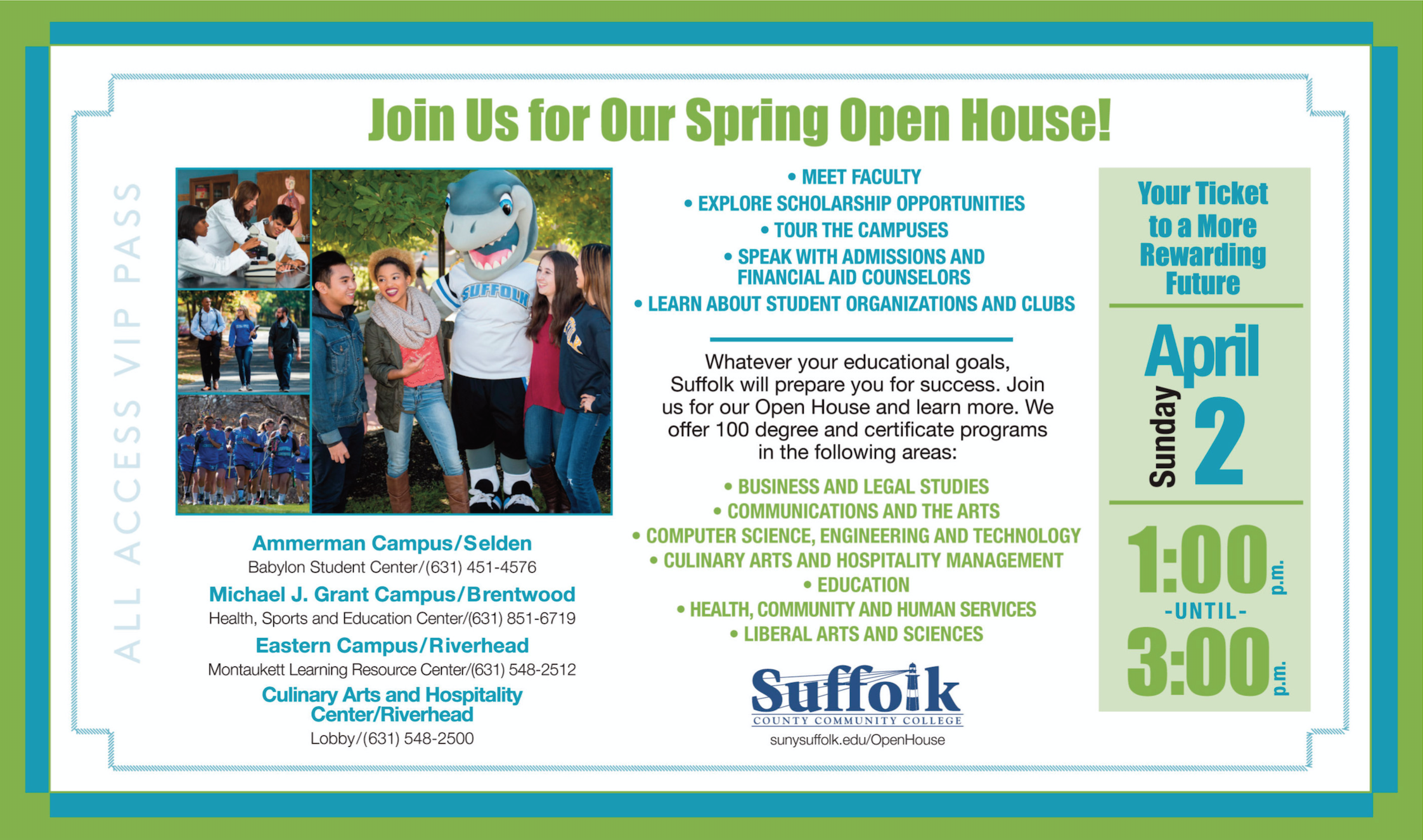 Suffolk Open House ad